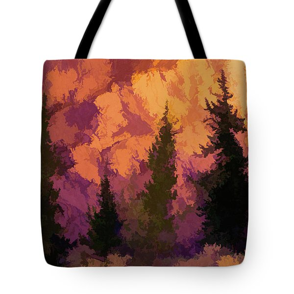 Wildfires Tote Bag