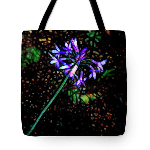 Tote Bag featuring the photograph Wildflower by Ann Powell