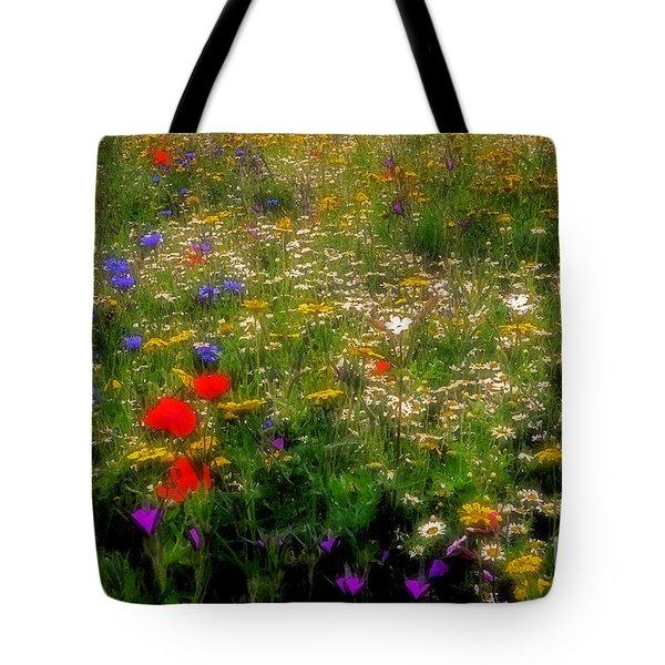 Wildflower Art Tote Bag