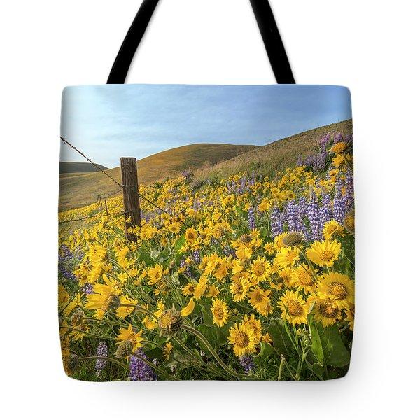 Wildflower Bonanza Tote Bag