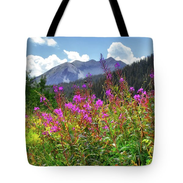 Wildflower Capital Tote Bag