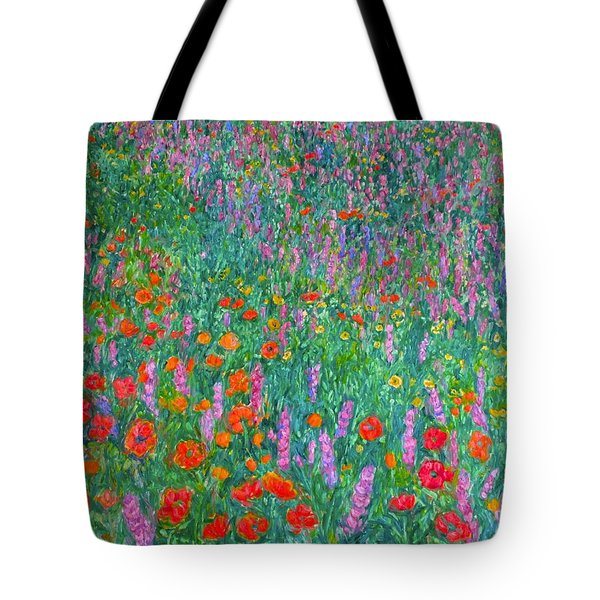 Wildflower Current Tote Bag