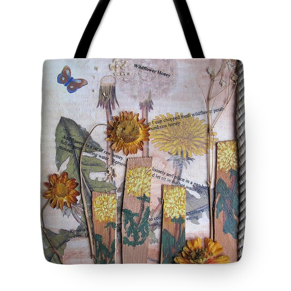 Wildflower Honey Tote Bag
