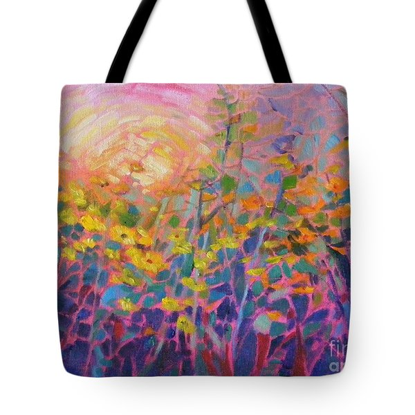 Wildflower II Tote Bag