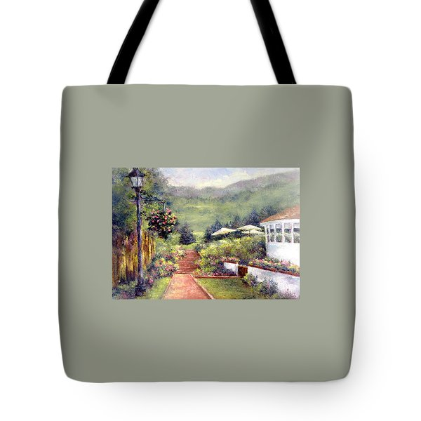 Wildflower Inn Tote Bag