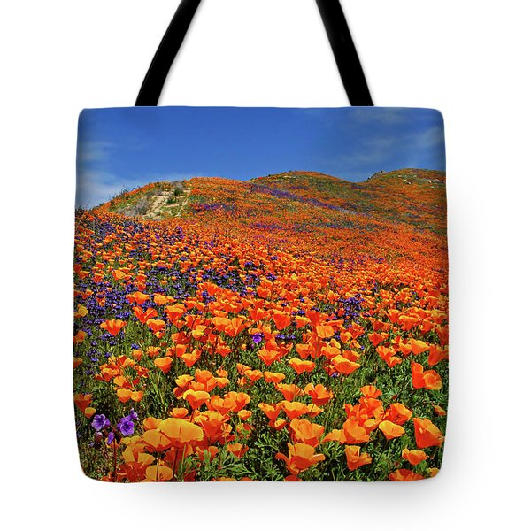 Wildflower Jackpot Tote Bag by Lynn Bauer