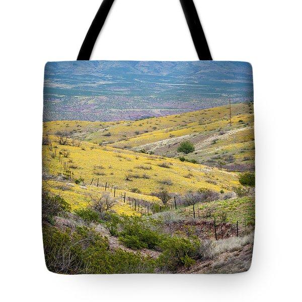 Wildflower Meadows Tote Bag