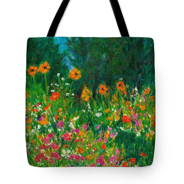Wildflower Rush Tote Bag