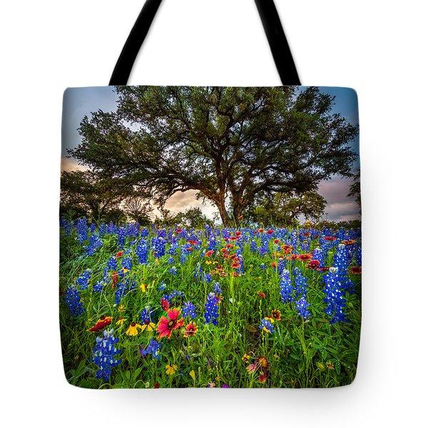 Wildflower Tree Tote Bag
