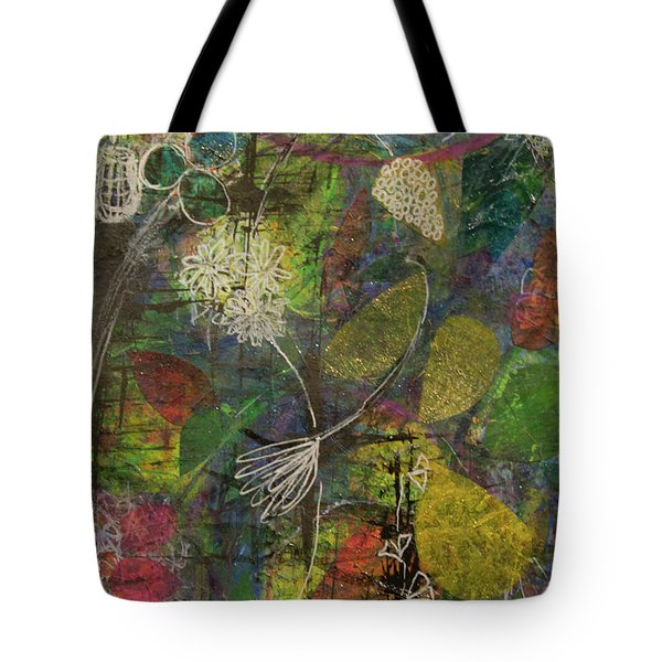 Wildflower Two Tote Bag