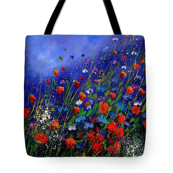 Wildflowers 78 Tote Bag by Pol Ledent