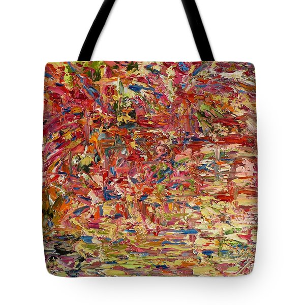 Wildflowers Dancing With The Light Tote Bag