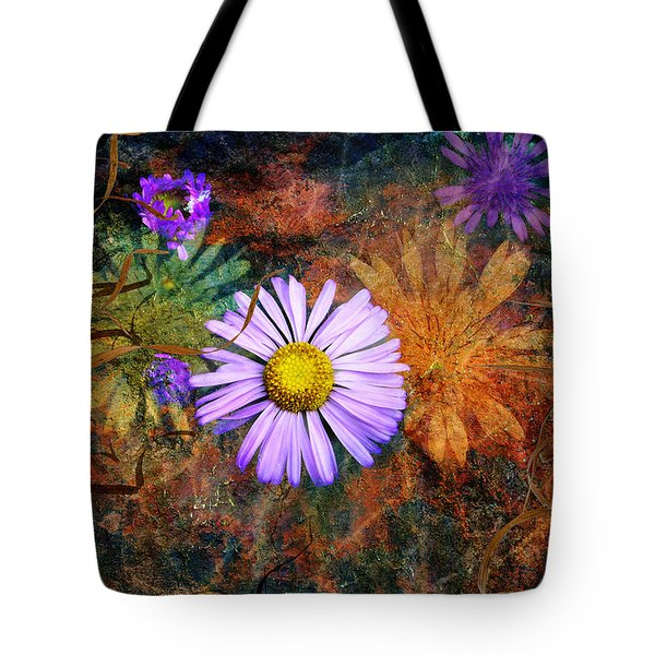 Wildflowers Tote Bag by Ed Hall