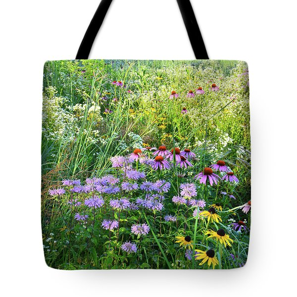 Wildflowers In Moraine Hills State Park Tote Bag
