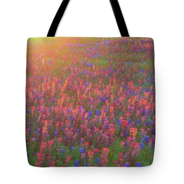 Wildflowers In Texas Tote Bag