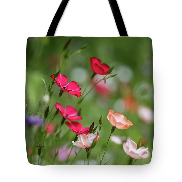 Wildflowers Meadow Tote Bag