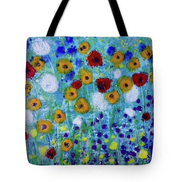 Wildflowers Never Die Tote Bag