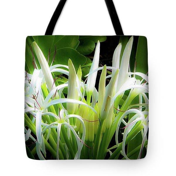 Wildflowers Of Hawaii Tote Bag