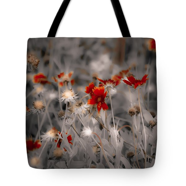 Wildflowers Of The Dunes Tote Bag