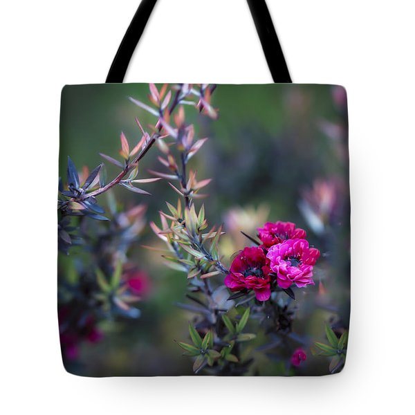 Wildflowers On A Cloudy Day Tote Bag