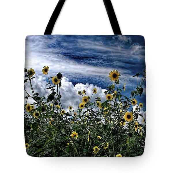 Wildflowers On The Brazos Tote Bag