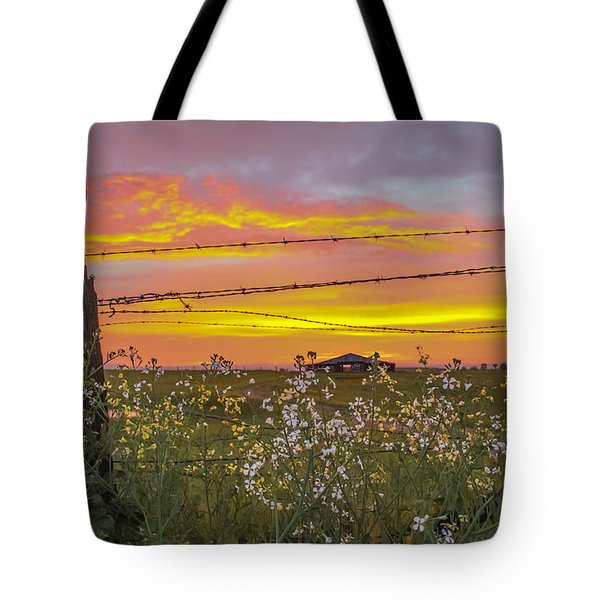 Wildflowers On The Ranch Tote Bag
