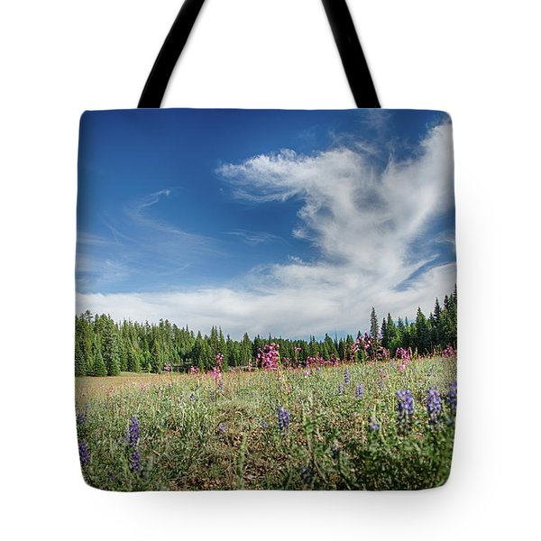 Wildflowers Reach For The Sky Tote Bag