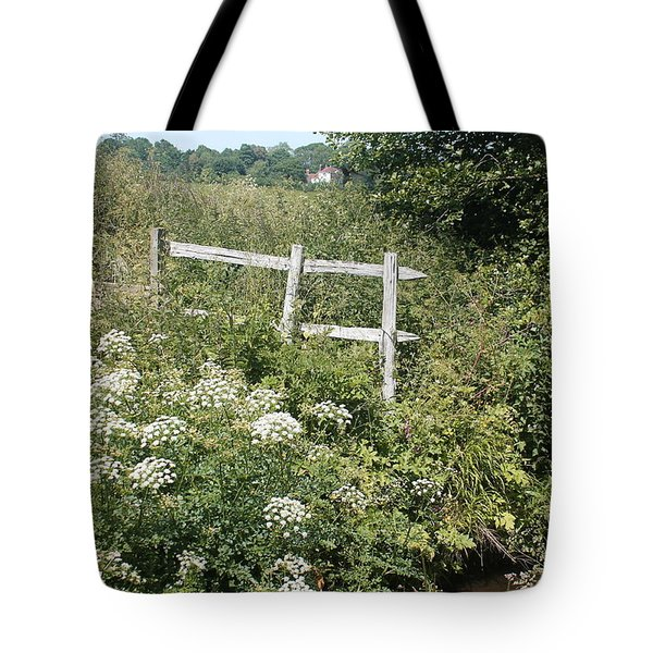 Tote Bag featuring the photograph Wildings Of Nature by Rosemary Colyer