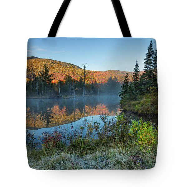 Wildlife Pond - Bethlehem New Hampshire Tote Bag