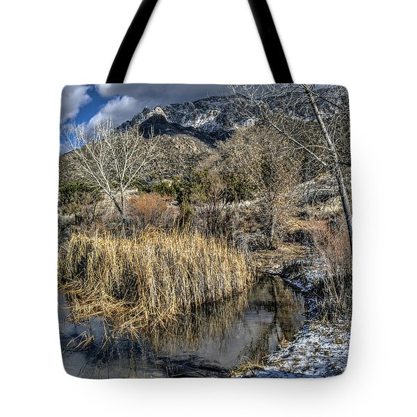 Wildlife Water Hole Tote Bag by Alan Toepfer