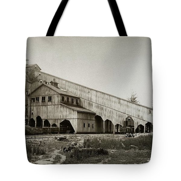 Wilkes Barre Twp Pa Empire Number 5 Coal Breaker 1880 Lehigh And Wb Coal Co. Tote Bag