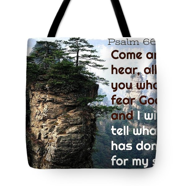 Will Do All For All Tote Bag