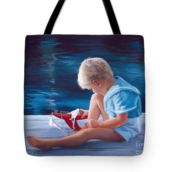 Will It Sail Tote Bag