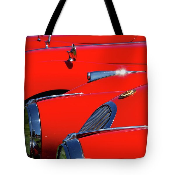 Tote Bag featuring the photograph Will The Owner Of The Red Car by John Schneider