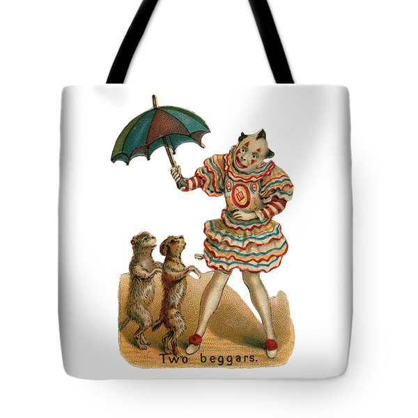 Tote Bag featuring the digital art Will Work For Food by ReInVintaged