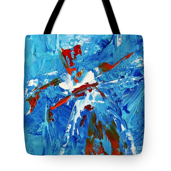 Will You Dance With Me? Tote Bag by Jasna Dragun