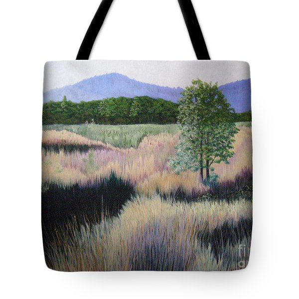 Willamette Evening Shadows Tote Bag