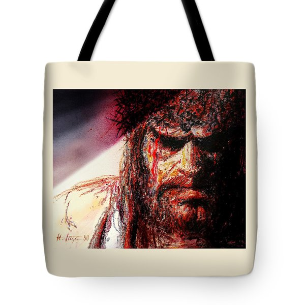 Willem Dafoe - Actor Tote Bag by Hartmut Jager