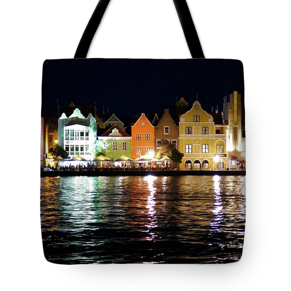 Tote Bag featuring the photograph Willemstad, Island Of Curacoa by Kurt Van Wagner