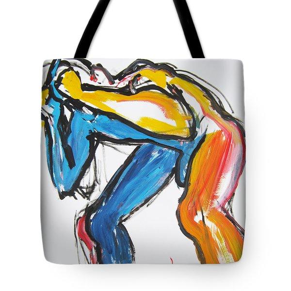 William Flynn Block Tote Bag
