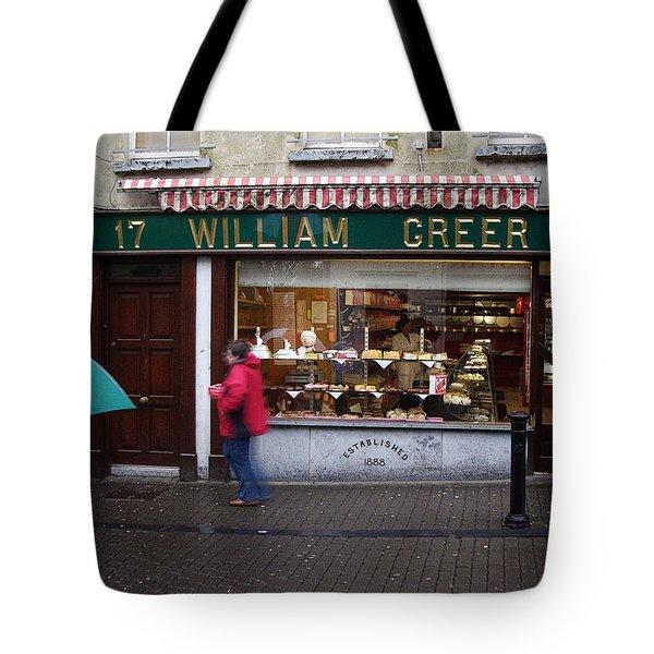 William Greer Tote Bag