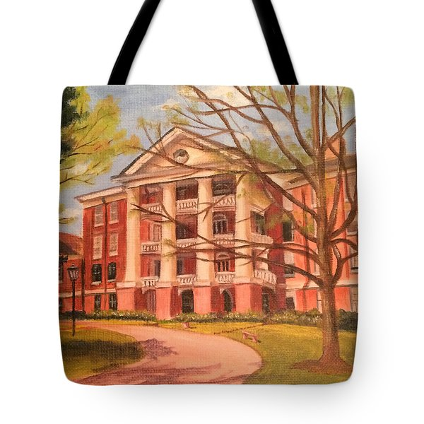 William Peace University Tote Bag
