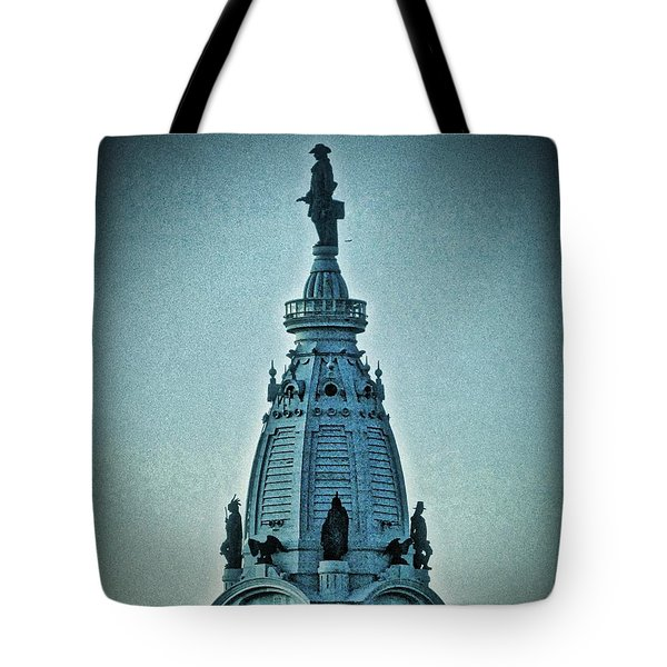 William Penn On Top Tote Bag