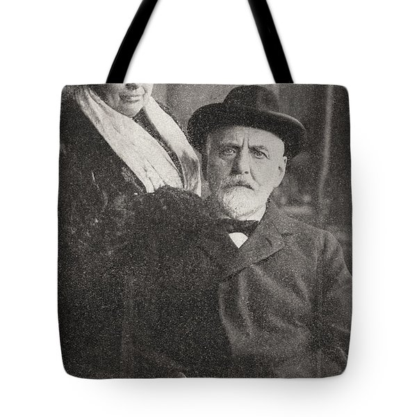William T Stead, 1849 - 1912. English Tote Bag