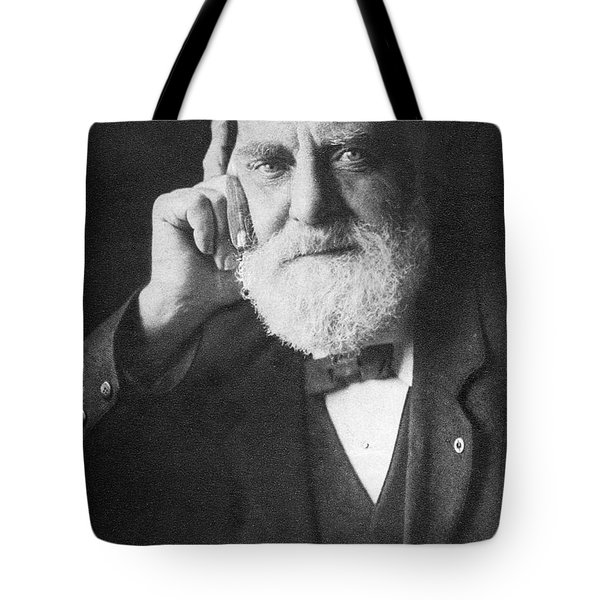 William T. Stead July 5 1849 To April Tote Bag