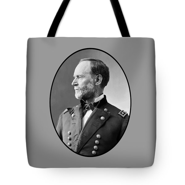 William Tecumseh Sherman Tote Bag by War Is Hell Store