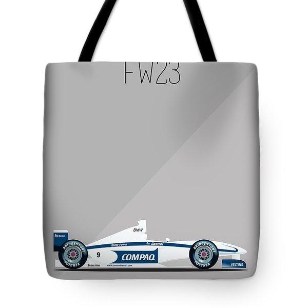 Williams Bmw Fw23 F1 Poster Tote Bag