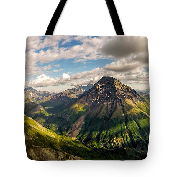 Williams Peak Alaska Tote Bag