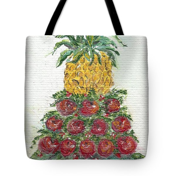 Williamsburg Apple Tree Tote Bag