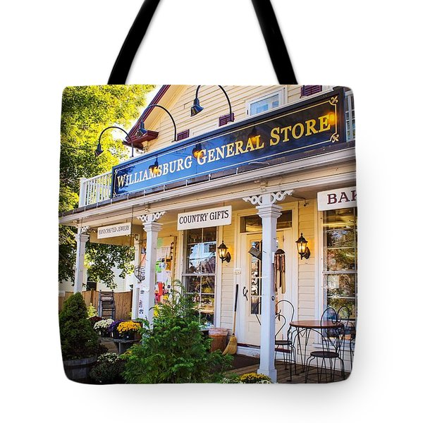 Williamsburg General Store Mass Tote Bag